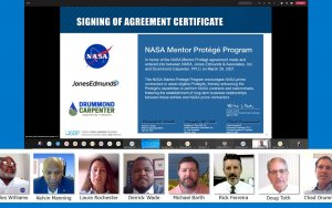 Jones Edmunds Serves as Mentor in NASA Mentor-Protégé Program