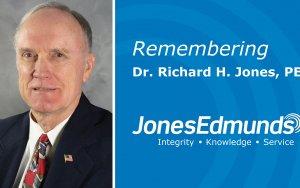 Remembering Dr. Richard H. Jones, PE on Jones Edmunds' 47th Anniversary
